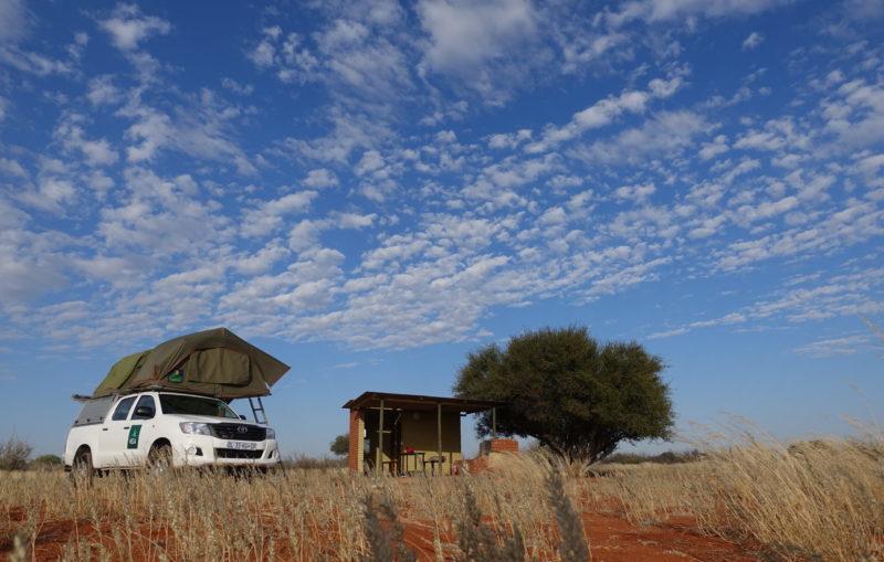 Namibia Kalahari Camping